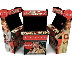 classic coca cola arcade