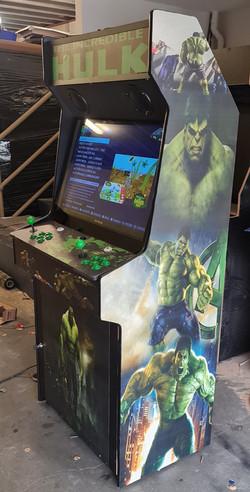 Incredible hulk arcade