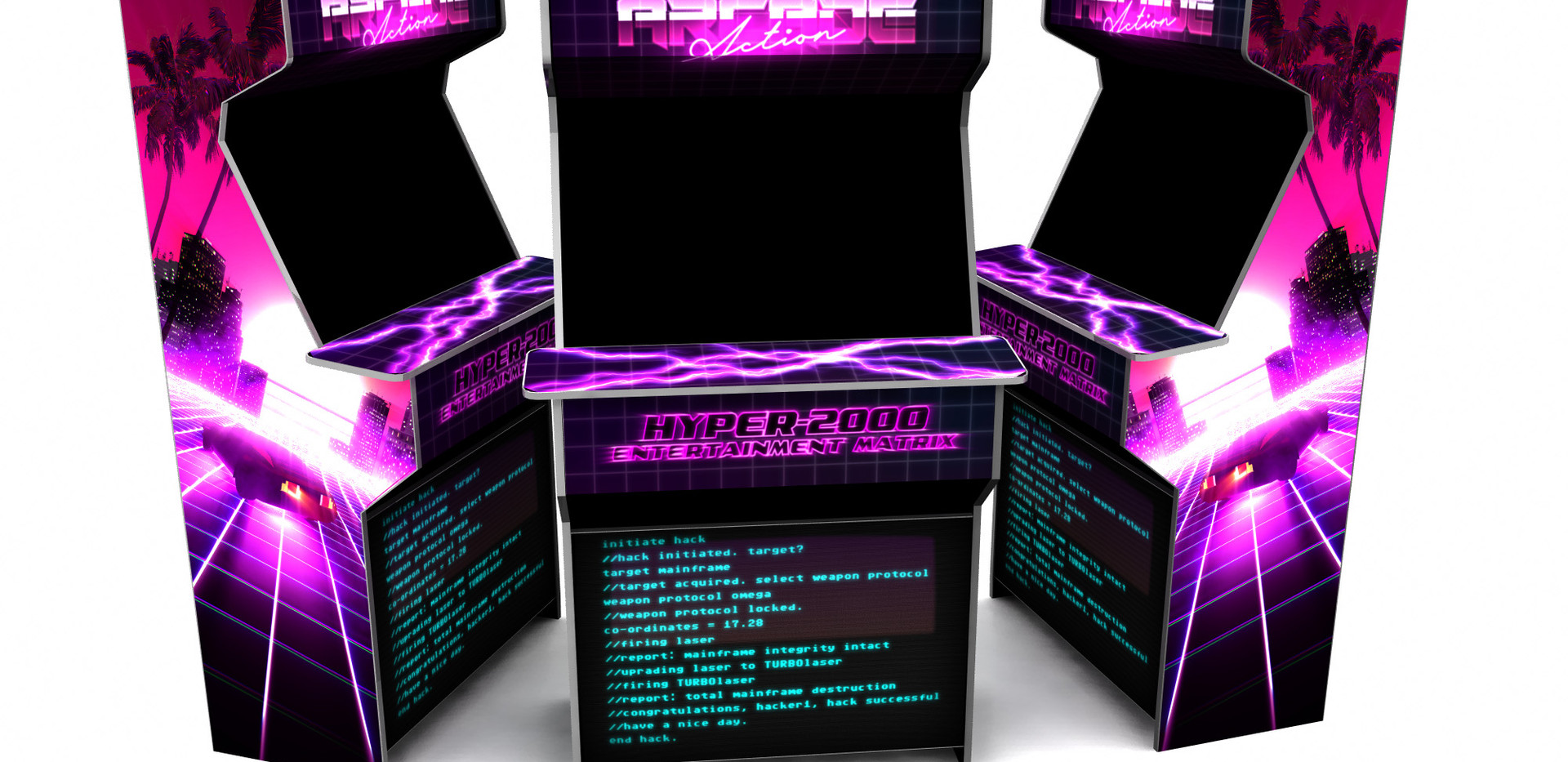 vaoprwave 80's arcade machine