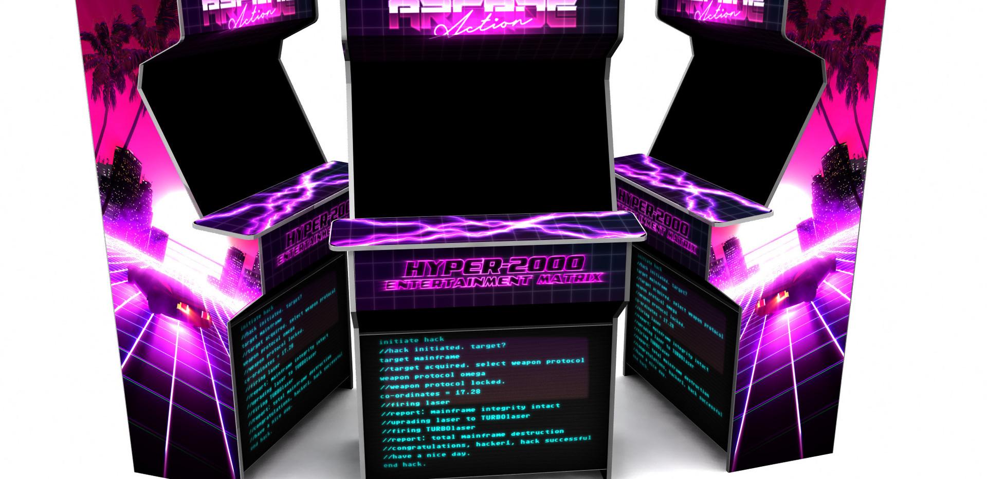 vaoprwave 80's arcade machine