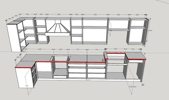 Столешница кухни в американском стиле (1)