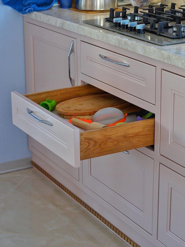 системы выдвижения для кухни