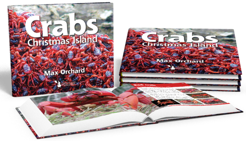 Crabs of Christmas Island, Max Orchard, Christmas Island crabs