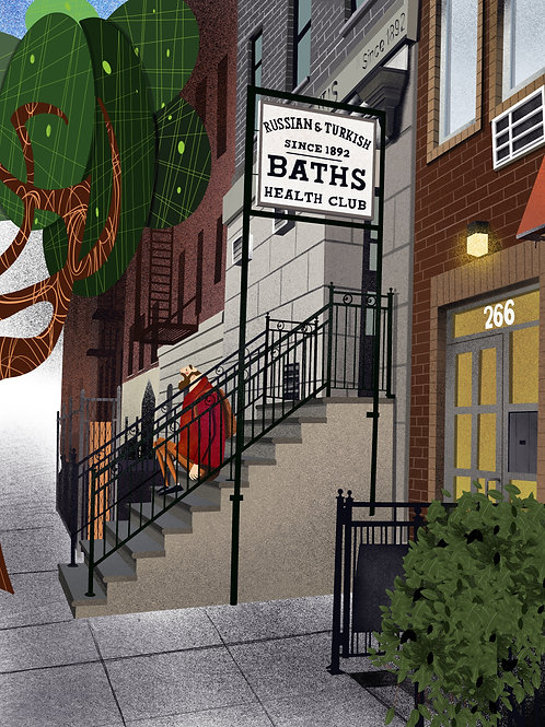 Russian & Turkish Bath NYC