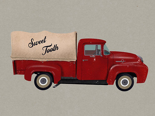 Sweet Tooth Red Truck