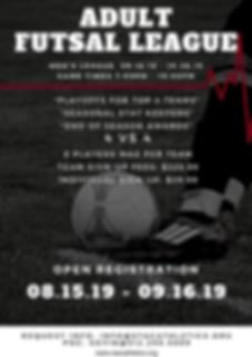 Orange Black and White Soccer Poster (1)