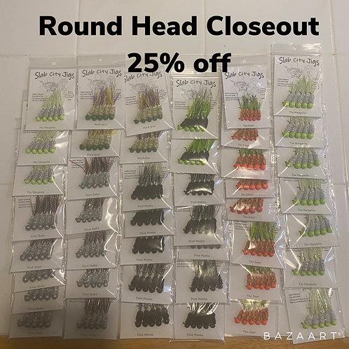 Misc Round Head Jigs