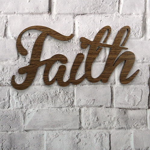 Faith (Walnut & Alder Wood)