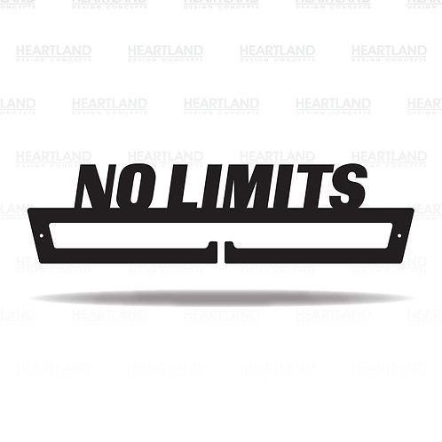 """""""No Limits"""" Medal Hanger"""