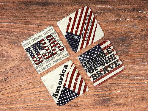 American Coaster Set