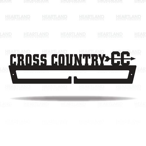 Cross Country Medal Hanger