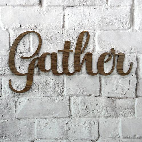 Gather (Walnut & Alder Wood)