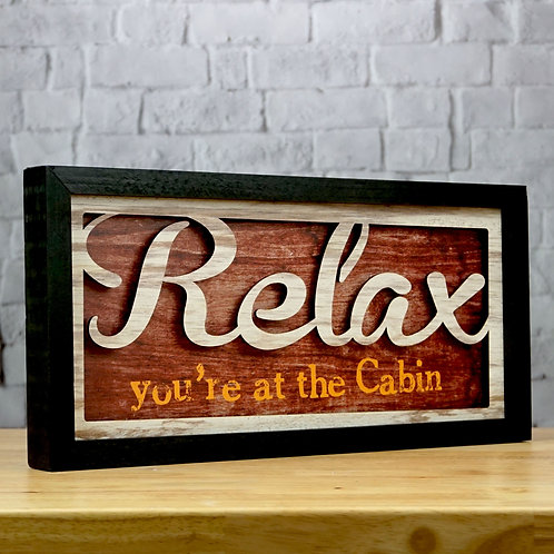 Relax at the Cabin