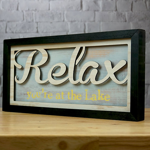 Relax at the Lake