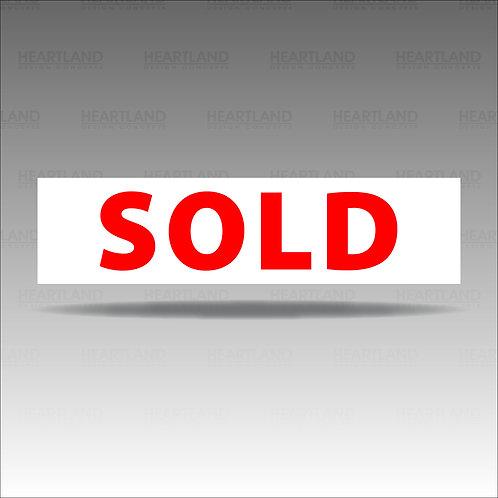Sold Rider Sign