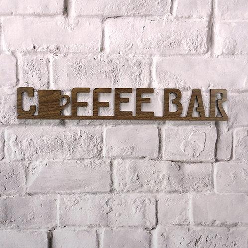 Coffee Bar (Walnut & Alder Wood)