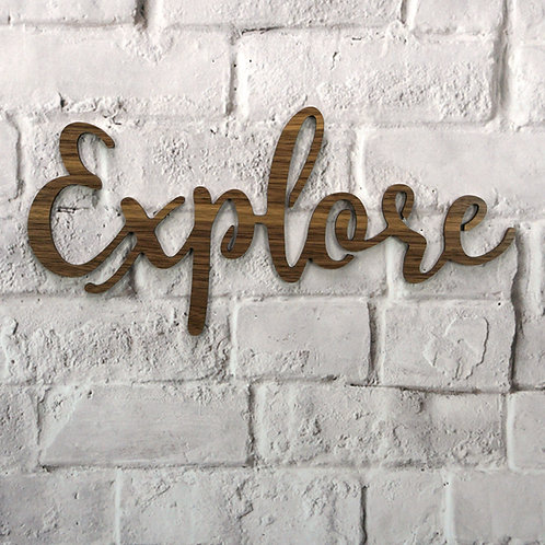 Explore (Walnut & Alder Wood)