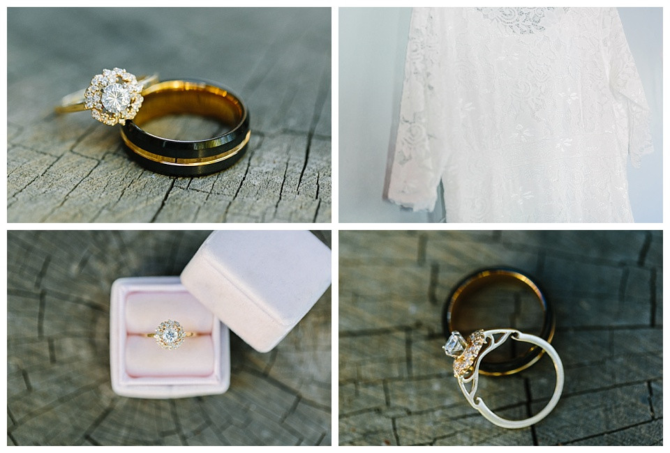 Utah wedding photographer, wedding details, wedding rings, wedding dress