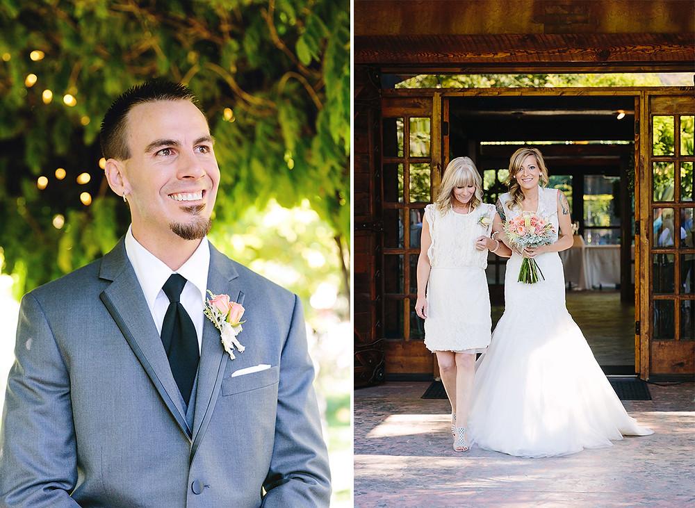 Utah wedding, bride walking down the aisle, bride and groom, utah wedding, utah photographer, utah wedding photographer, best utah photographer