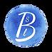 Logo Blue Watercolor Circle SLB transpar