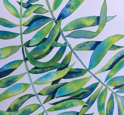 """Tropical Leaves 1"""