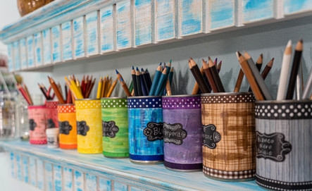 Watercolor Pencil Storage
