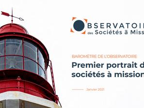 [Baromètre] Observatoire des sociétés à mission - 1ère édition
