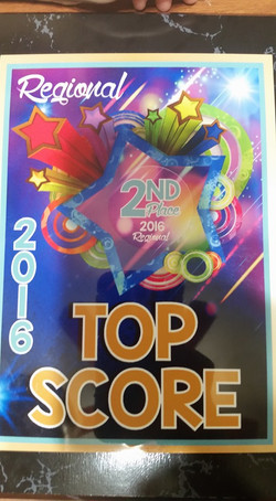 2nd place Top Score