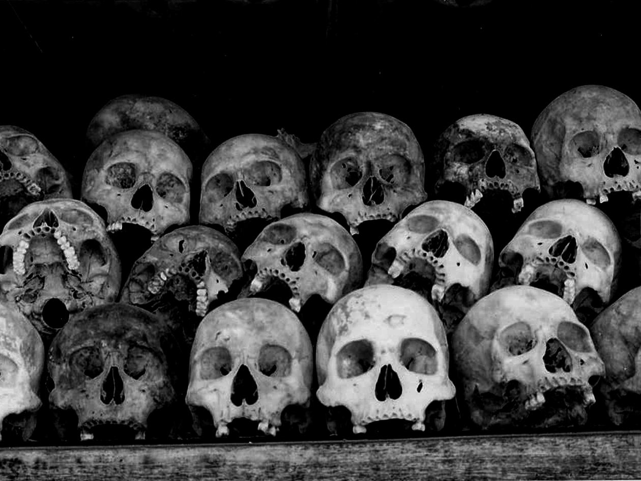 Rural genocide memorial