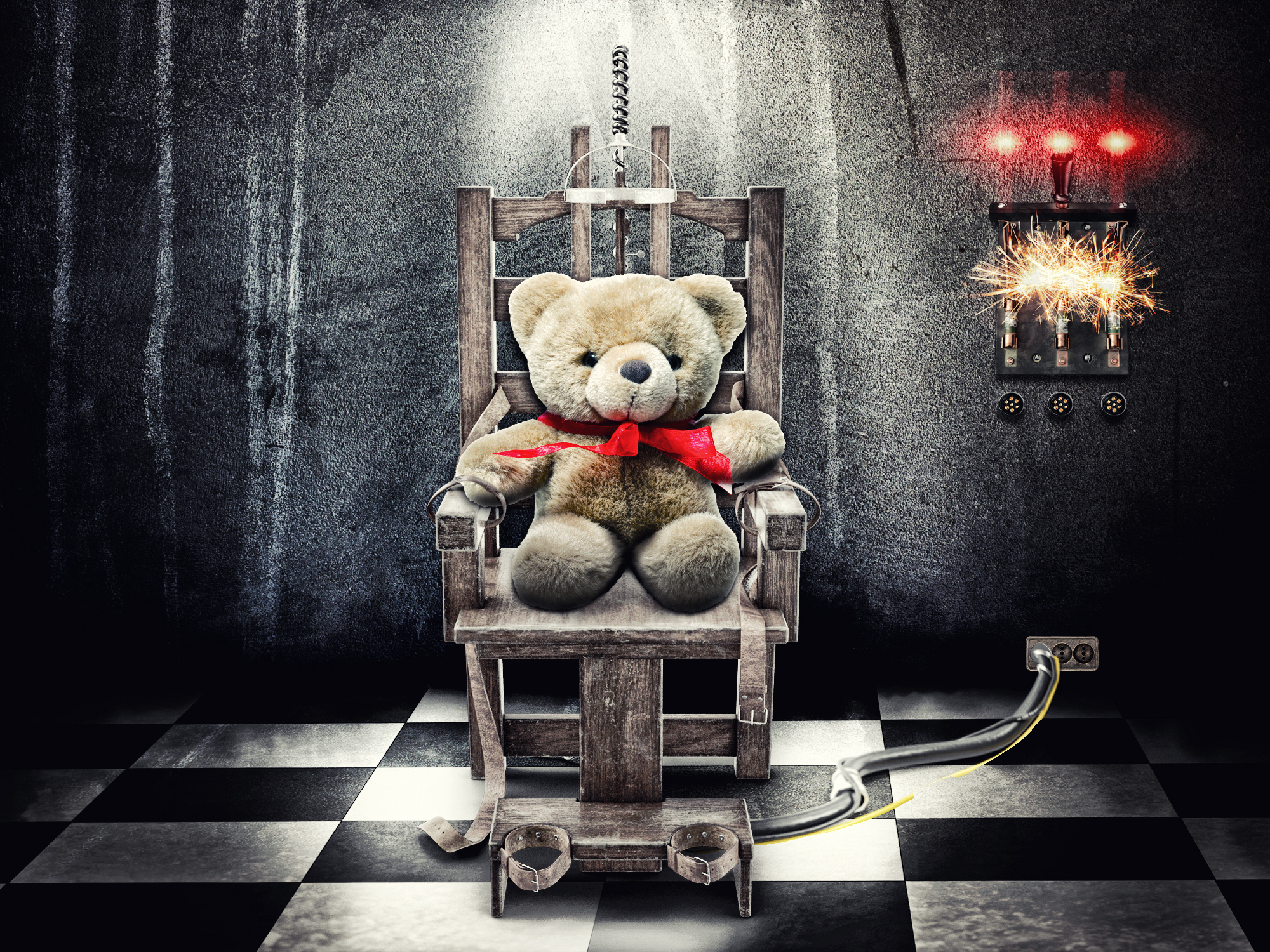 abortion state sponsored infanticide teddy bear v3