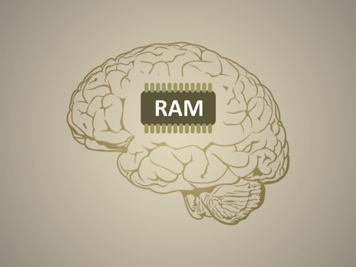 RAM memory working