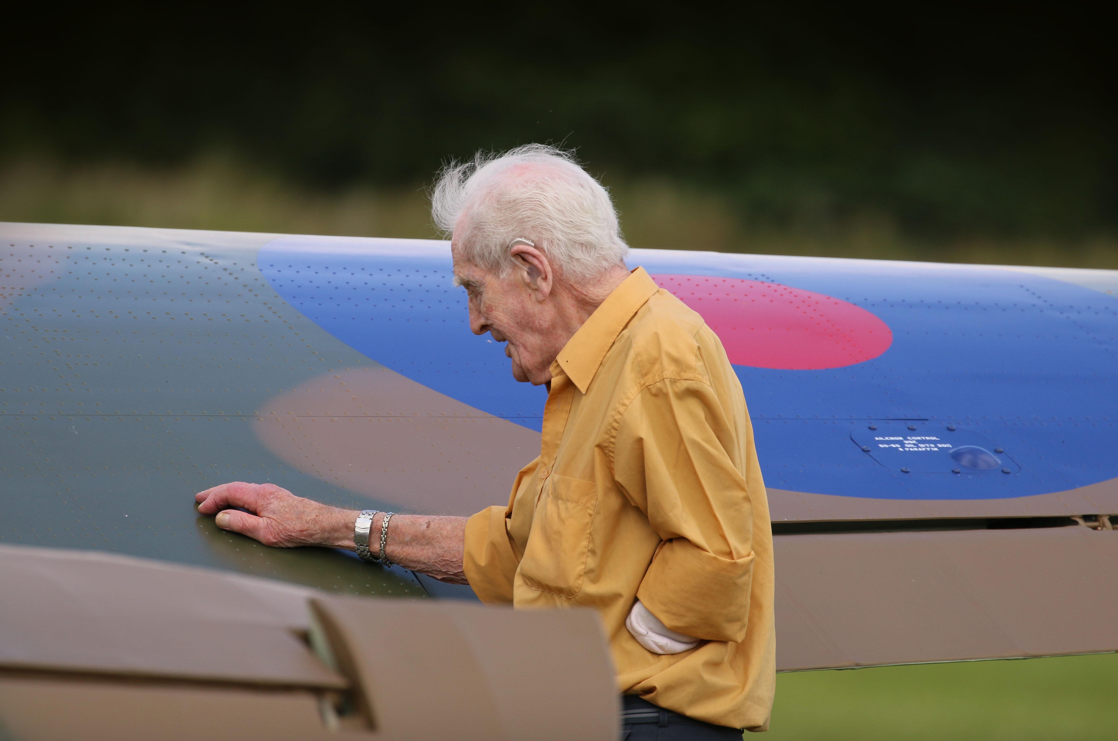 McLachlan Hurricane pilot