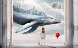 Georgie and the sky-whale dream