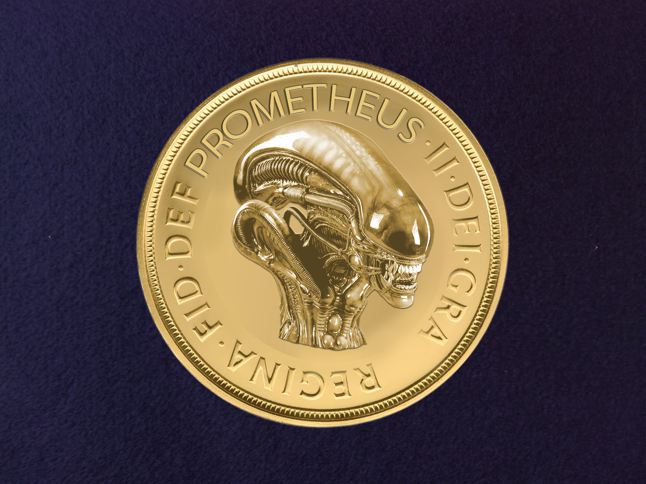 alien queen minted