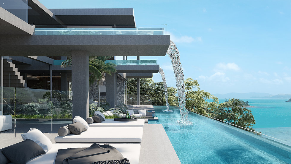 Luxury Waterfront Tropical North Qld Residence Spectre
