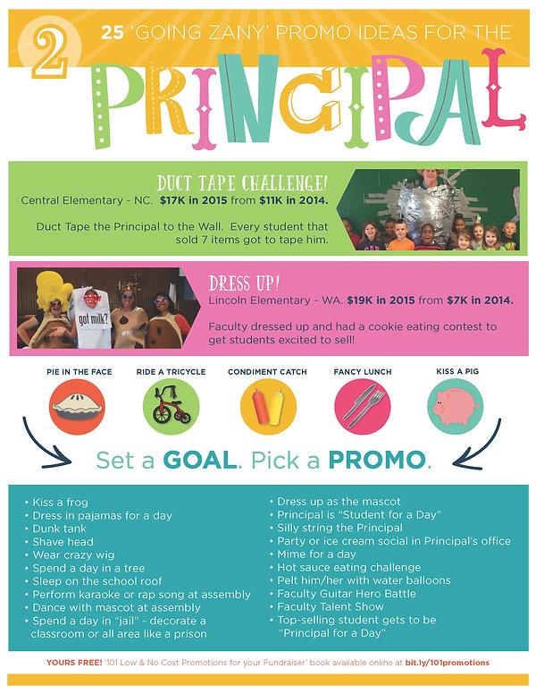 25 Promo Ideas for the Principal