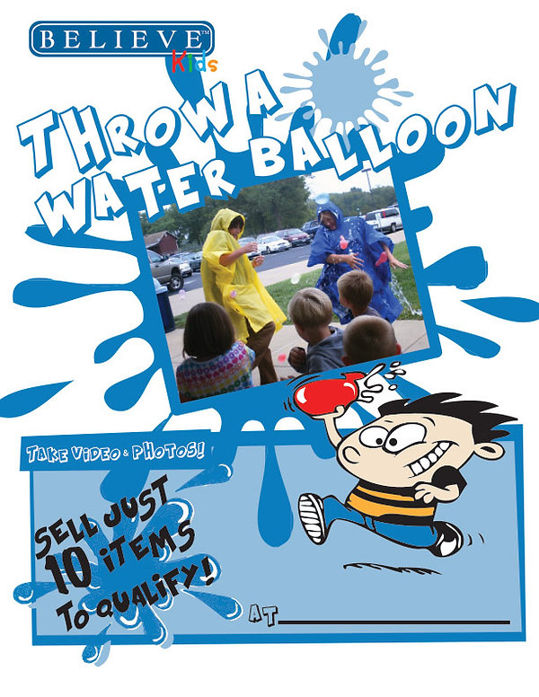 Throw a Water Balloon