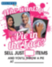 Pie in the Face Contest