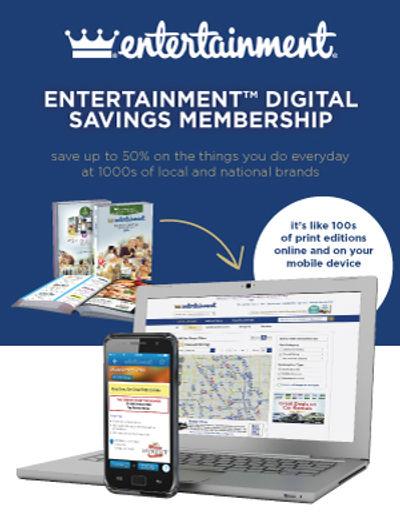 Entertainment Digital Savings Membership