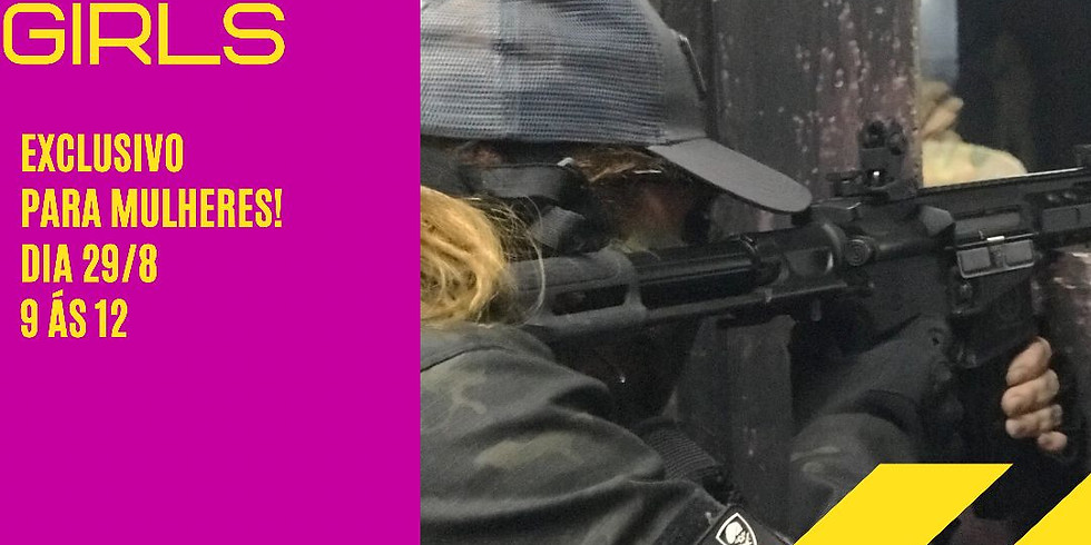Airsoft Game Only Girls