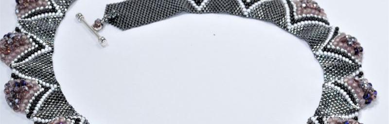 Necklace grey