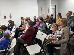 Audience at the book presentation