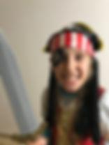 child in a costume