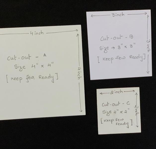 Examples of paper for Zentangle Art