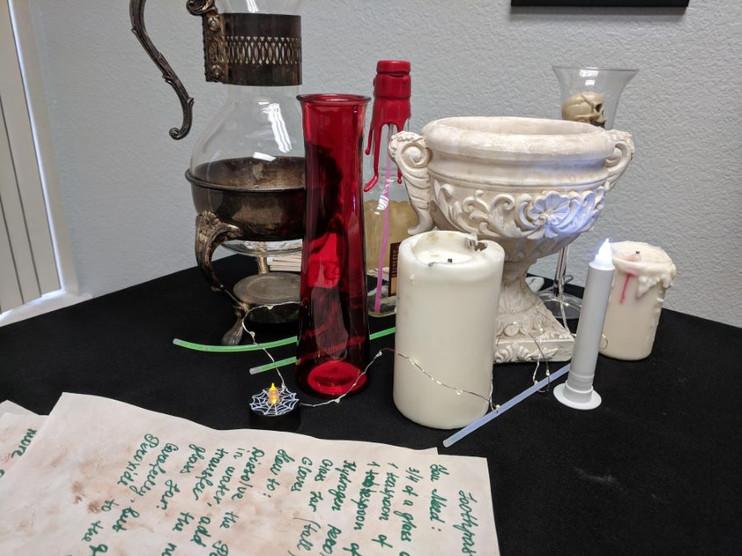 decor for potion class