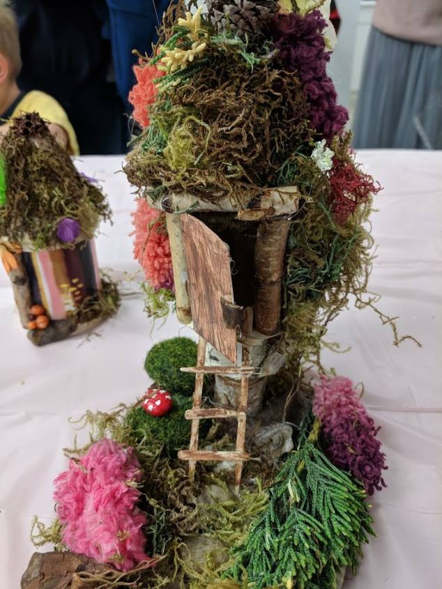 Fairy House with a ladder