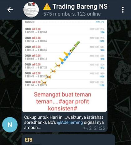 Trading Bareng NS