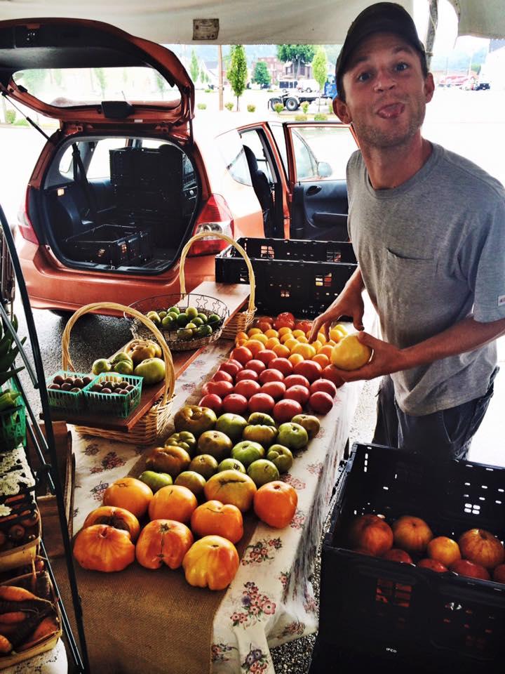 Casey at Market