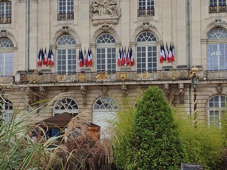 Jardin éphémère à la Place Stanislas
