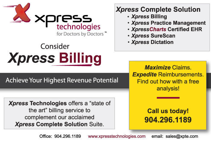 Maximize claims and expedite reimbursements with Xpress Billing.